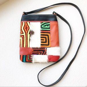 Bossley Leather Crossbody Purse Handmade Columbia